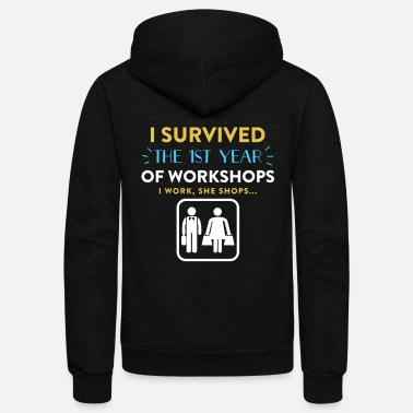 Anniversary For Him 1st year Wedding Anniversary Gift Ideas For Him - Unisex Fleece Zip Hoodie