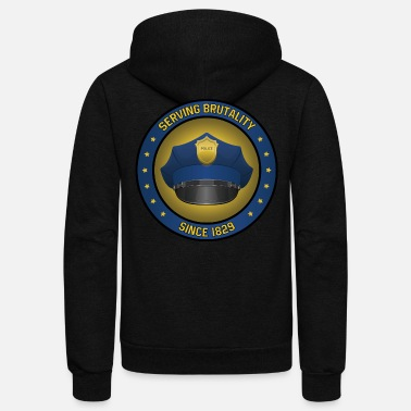 Since 1829 Anti Police Brutality - Unisex Fleece Zip Hoodie