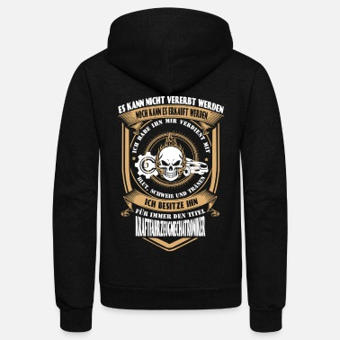 Renner Vehicle Mechanic - I've earned it with my tears - Unisex Fleece Zip Hoodie