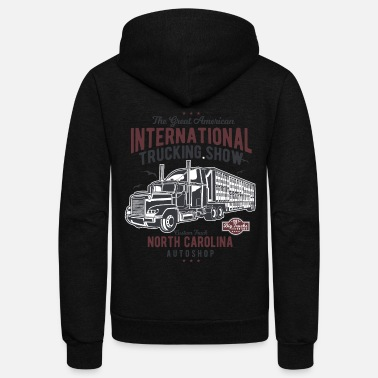 Big Truck Big Truck - Unisex Fleece Zip Hoodie