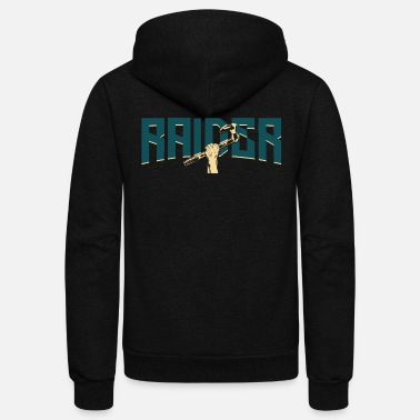 Raider Vikings Raider - Unisex Fleece Zip Hoodie