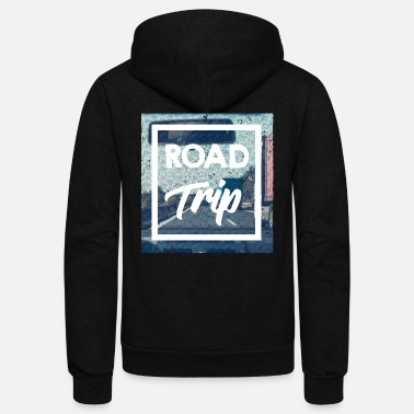 Trip Road Trip - Unisex Fleece Zip Hoodie