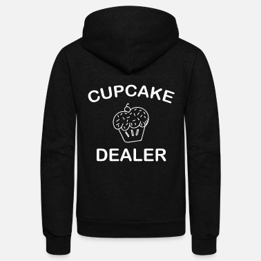Cupcake Cupcake Dealer - Unisex Fleece Zip Hoodie