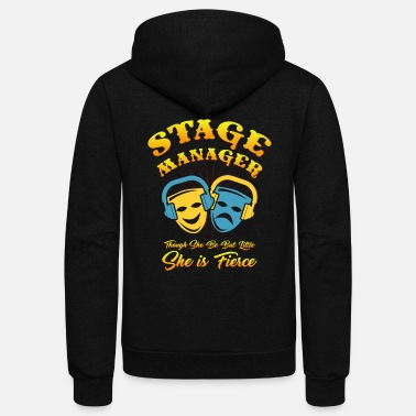 Stage Manager Stage Manager - Unisex Fleece Zip Hoodie
