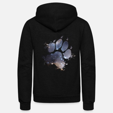 Mark Something Mark of the Space Wolf - Unisex Fleece Zip Hoodie