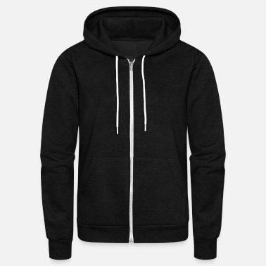 Wild cheetah_running - Unisex Fleece Zip Hoodie
