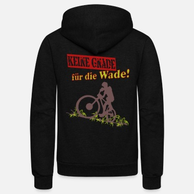 Tension Bike Mountainbike Downhill - Unisex Fleece Zip Hoodie