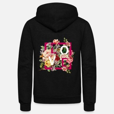 Fashion fashion and floral trend - Unisex Fleece Zip Hoodie