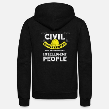 Civil Engineering Civil Engineering - Unisex Fleece Zip Hoodie