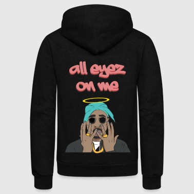 Pac Amaru Shakur Hip Hop Greatest Rapper - Unisex Fleece Zip Hoodie