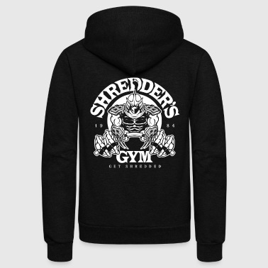 Shredder's Gym - Unisex Fleece Zip Hoodie