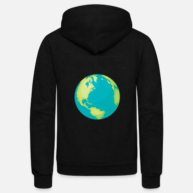 Climatic Protection climate protection - Unisex Fleece Zip Hoodie