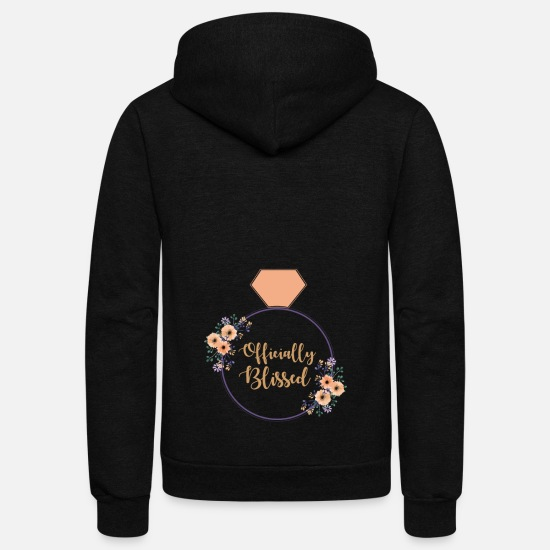 Proposal Hoodies & Sweatshirts - Officially Blissed - Unisex Fleece Zip Hoodie black