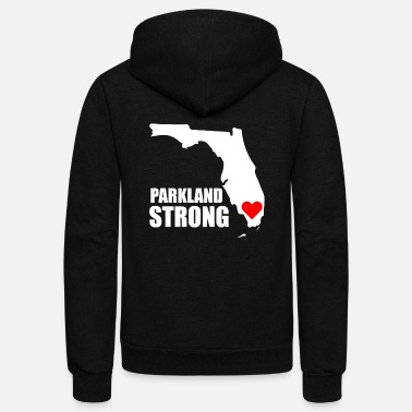 Parkland Strong and Proud - Unisex Fleece Zip Hoodie