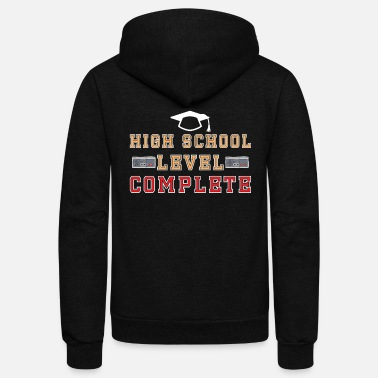 High School Graduate high school graduation celebration gift - Unisex Fleece Zip Hoodie