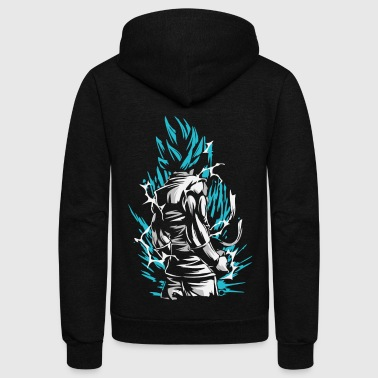 Dragon Ball - Goku SSB - Unisex Fleece Zip Hoodie