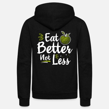 Certified Nutrition Specialist Nutritionist Nutrition Diet Dietician Dietitian - Unisex Fleece Zip Hoodie