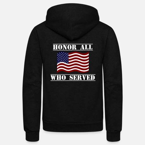 ... Sweatshirts - Patriotic Veterans Day Shirt Honor All Who Served - Unisex  Fleece. Do you want to edit the design  31f75da08
