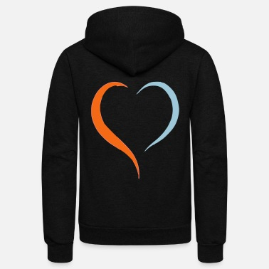 Drawing drawing - Unisex Fleece Zip Hoodie