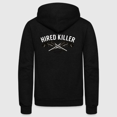Hired Killer - Unisex Fleece Zip Hoodie