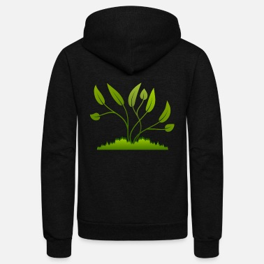 Tree tree - Unisex Fleece Zip Hoodie