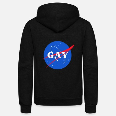 Pride Magazine Sounds Gay I m In - Unisex Fleece Zip Hoodie