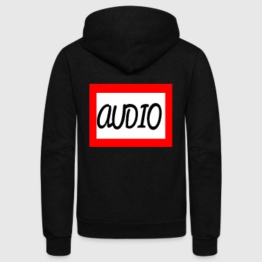 AUDIO - Unisex Fleece Zip Hoodie