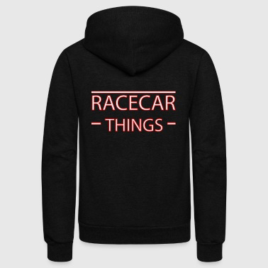 Racecar things - Unisex Fleece Zip Hoodie