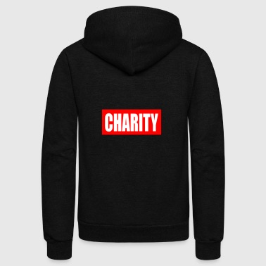 CHARITY - Unisex Fleece Zip Hoodie