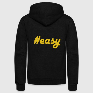 #easy - Unisex Fleece Zip Hoodie