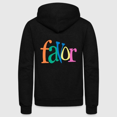favor 04 - Unisex Fleece Zip Hoodie