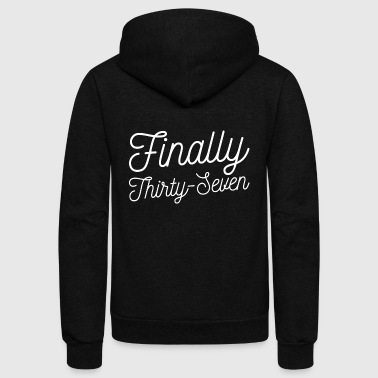 Finally Finally 37 - Unisex Fleece Zip Hoodie