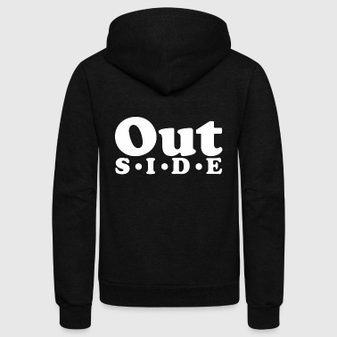 Outside - Unisex Fleece Zip Hoodie