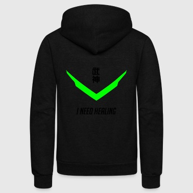 i need healing - Unisex Fleece Zip Hoodie