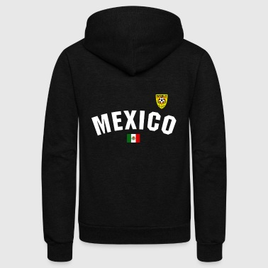 Mexico Mexico National Football - Unisex Fleece Zip Hoodie