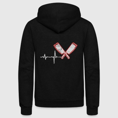 gift heartbeat butcher - Unisex Fleece Zip Hoodie