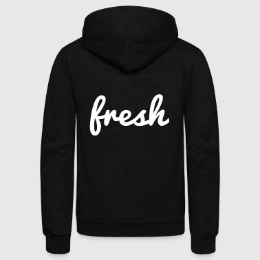 Fresh Water fresh - Unisex Fleece Zip Hoodie