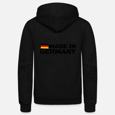 Germany Made in Germany - Unisex Fleece Zip Hoodie