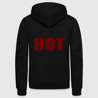 HOT 2x - Unisex Fleece Zip Hoodie