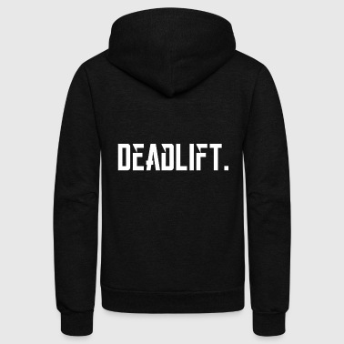 Bodybuilding - Deadlift - Powerlifting - Bodyb - Unisex Fleece Zip Hoodie
