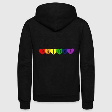 Pride LGBT Gay Pride - Unisex Fleece Zip Hoodie