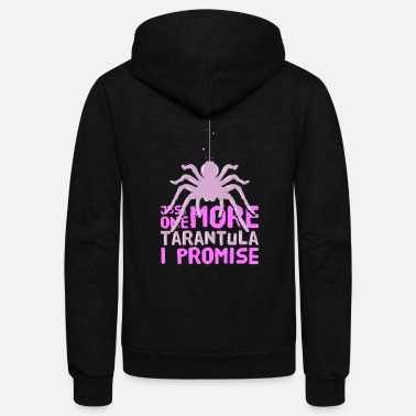 Venom TARANTULA SPIDER: One More Tarantula - Unisex Fleece Zip Hoodie