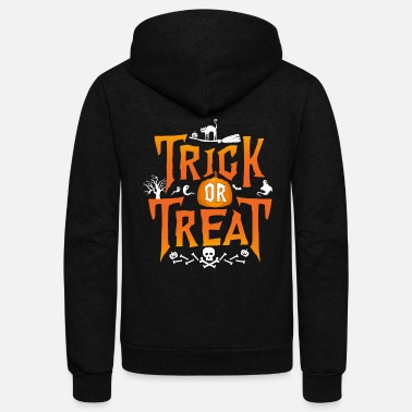 Trick Or Treat Trick Or Treat - Unisex Fleece Zip Hoodie
