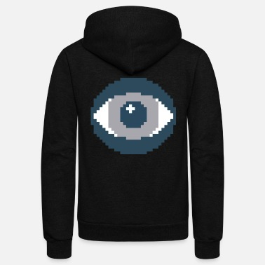 The Eye - Unisex Fleece Zip Hoodie
