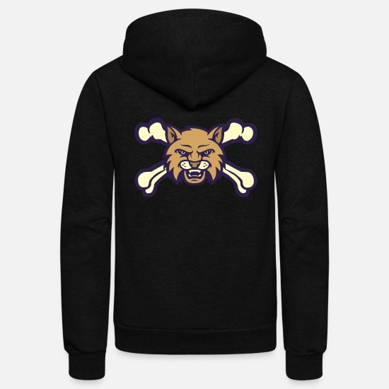 State Capital Hoodies & Sweatshirts - Montana State - Unisex Fleece Zip Hoodie black
