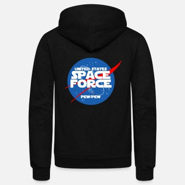 Star Space Force - Unisex Fleece Zip Hoodie