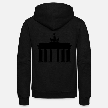 Gate Brandenburg Gate - Unisex Fleece Zip Hoodie