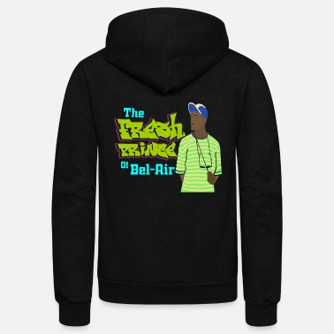 Prince The Fresh Prince of Bel Air - Unisex Fleece Zip Hoodie