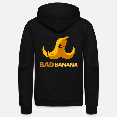 Bad Banana - Unisex Fleece Zip Hoodie