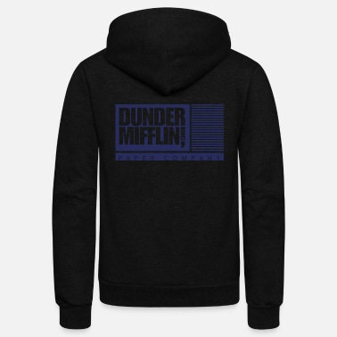The Office Dunder Mifflin, Inc. - Unisex Fleece Zip Hoodie